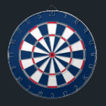 "Colorful Dart Board in New England colors<br><div class=""desc"">Dart board in New England colors.</div>"