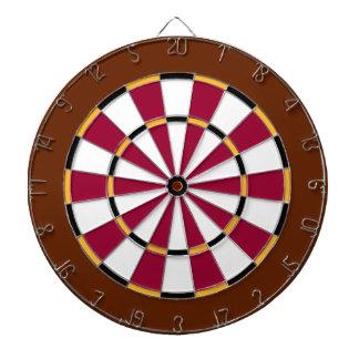 Colorful Dart Board in Washington colors