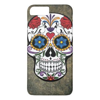 Colorful Day of the Dead Skull Día de Muertos iPhone 7 Plus Case