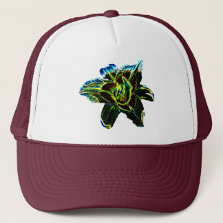 Colorful Daylily Trucker Hat
