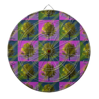 Colorful Days Dart Board