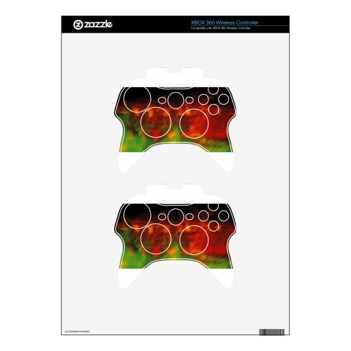 Colorful Days Xbox 360 Controller Skins