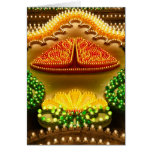 Colorful decorations card