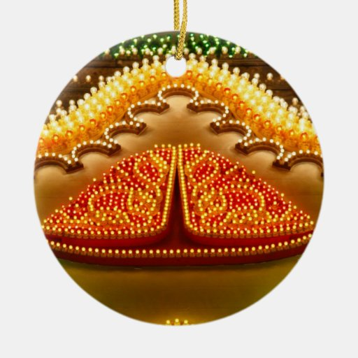Colorful decorations christmas ornaments