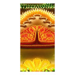 Colorful decorations customized photo card
