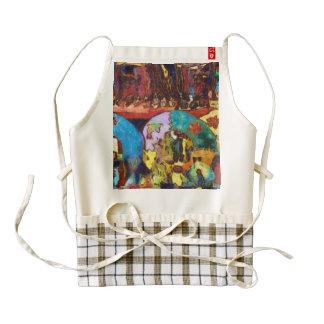 Colorful decorations up for sale zazzle HEART apron