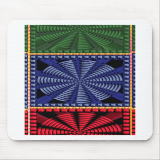 Colorful Decorative Button Art GIFTS Wedding FUN Mousepads
