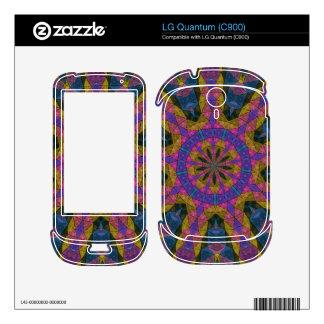 Colorful decorative mosaic LG quantum skins