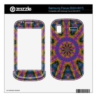 Colorful decorative mosaic samsung focus skin