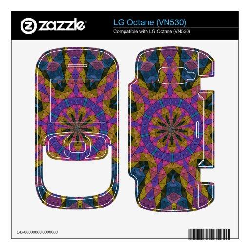 Colorful decorative mosaic LG octane decals