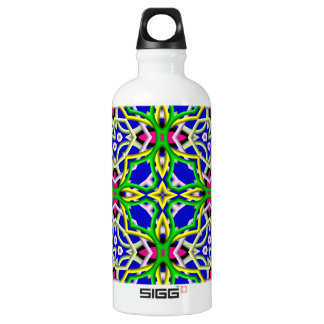 Colorful decorative water bottle