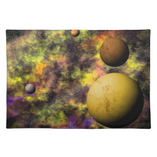 Colorful Deep Space Scene Placemat