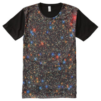 Colorful Deep Space Stars All-Over-Print Shirt