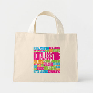 Colorful Dental Assisting Canvas Bag