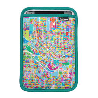 Colorful Denver Map Sleeve For iPad Mini