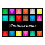 Colorful design business card