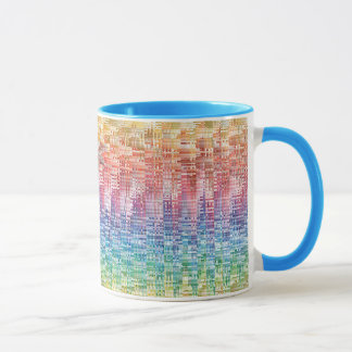 Colorful design coffee mug