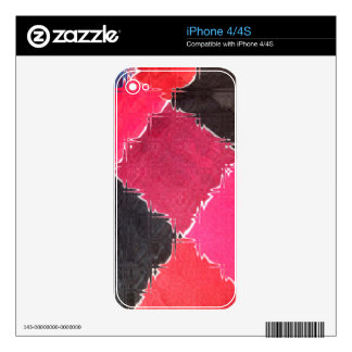 colorful design decals for the iPhone 4