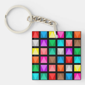 Colorful design keychain