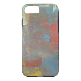 Colorful Design Muted Paint Colors Collage iPhone 7 Case