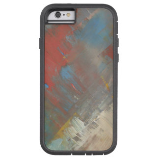 Colorful Design Muted Paint Colors Collage Mix 2 Tough Xtreme iPhone 6 Case
