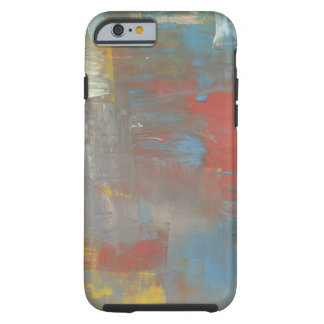 Colorful Design Muted Paint Colors Collage Tough iPhone 6 Case