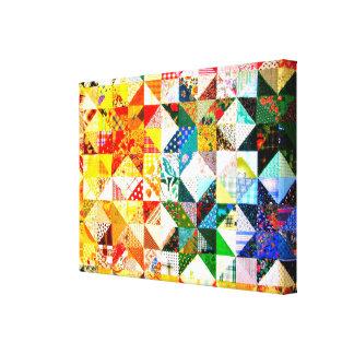 Colorful Design- Patch Canvas Print
