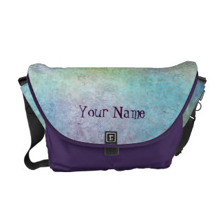 Colorful Design with your name Courier Bag