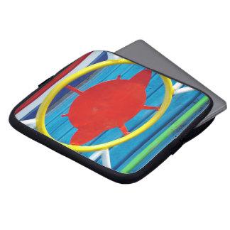 Colorful details laptop sleeve