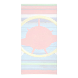 Colorful details photo card