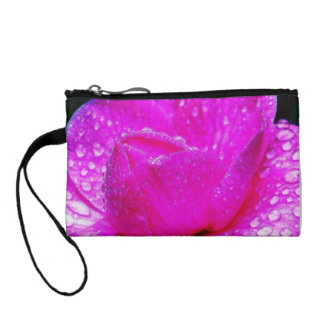 Colorful Dew Drops After The Rain Key Coin Clutch