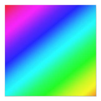 Colorful Diagonal Stripes  – 1 Card