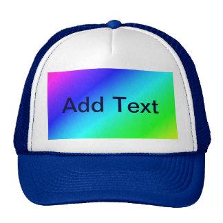 Colorful Diagonal Stripes – 1 Trucker Hat