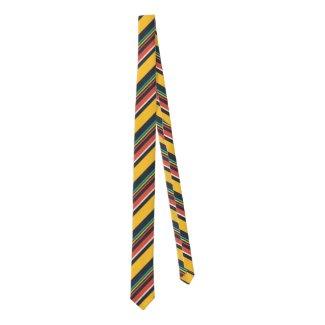 Colorful Diagonal Stripes Pattern Tie