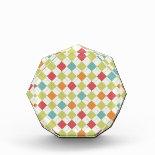 Colorful Diamond Argyle Pattern Gifts Awards