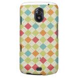 Colorful Diamond Argyle Pattern Gifts Galaxy Nexus Covers