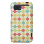 Colorful Diamond Argyle Pattern Gifts HTC Vivid Covers