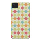 Colorful Diamond Argyle Pattern Gifts iPhone 4 Covers