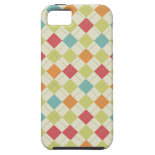 Colorful Diamond Argyle Pattern Gifts iPhone 5 Covers