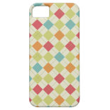 Colorful Diamond Argyle Pattern Gifts iPhone 5 Cover