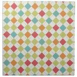 Colorful Diamond Argyle Pattern Gifts Cloth Napkin