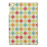 Colorful Diamond Argyle Pattern Gifts Cover For The iPad Mini