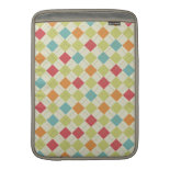 Colorful Diamond Argyle Pattern Gifts MacBook Air Sleeve