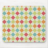 Colorful Diamond Argyle Pattern Gifts Mouse Pad