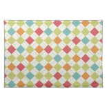 Colorful Diamond Argyle Pattern Gifts Placemat