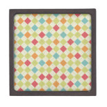 Colorful Diamond Argyle Pattern Gifts Premium Gift Boxes