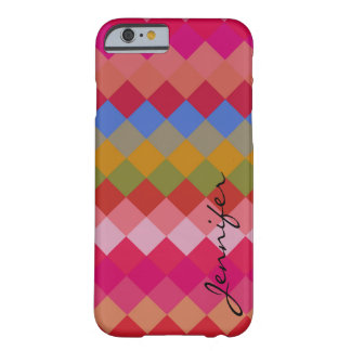 Colorful Diamond Geometric Pattern #11 Barely There iPhone 6 Case