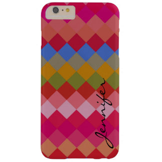 Colorful Diamond Geometric Pattern #11 Barely There iPhone 6 Plus Case