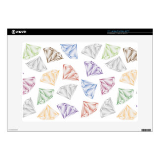 Colorful Diamonds for my sweetheart Laptop Skins