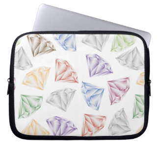 Colorful Diamonds for my sweetheart Laptop Sleeve